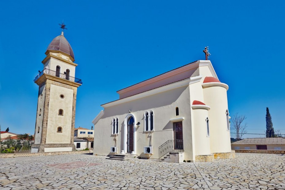 Agios Dimitrios church...